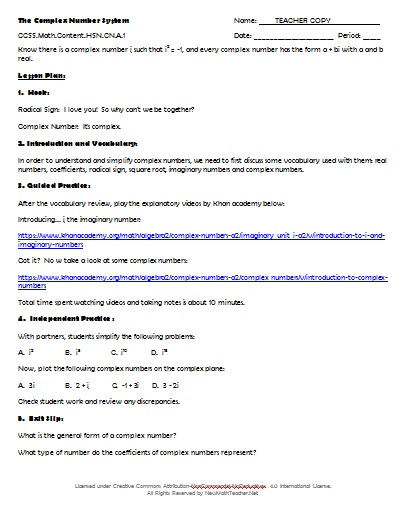 Factoring Equations Worksheet Solving Quadratic Equations By also 4 3i Math Ex le 5 Find Multiplicative Inverse Of 2 Division Math likewise  together with Multiplying and Divding  plex Numbers we   MATHGOTSERVED in addition Imaginary Numbers  mon Core Alge 2 Awesome Imaginary Numbers in addition Best Of Simplifying Radicals Worksheet with Answers Unique further Imaginary Numbers Worksheet   Mychaume together with  furthermore Generating Equivalent Expressions Students are asked to write also Clifying Real Numbers Worksheet Free Printable Worksheets also Understanding Why  plex Multiplication Works – BetterExplained also IB Maths HL Question    plex Numbers as well New Math Teacher  Resources including Math Lessons  Activities in addition Quiz   Worksheet   Properties of  plex Numbers   Study also CBSE Cl 11 Maths Notes  Conjugate of a  plex Number and Its additionally The  plex Number System   High School  Number and Quany. on properties of complex numbers worksheet