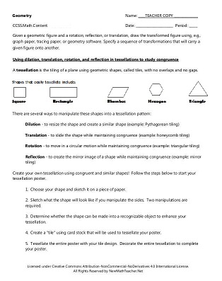 Number Names Worksheets geometry math worksheets : Math Worksheets For Grade 8 Geometry